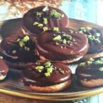 German Christmas Cookies: Mozarttaler
