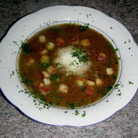 Authentic Swiss Soup Recipe Basler Mehlsuppe