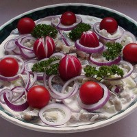 Herring Salad with Potatoes