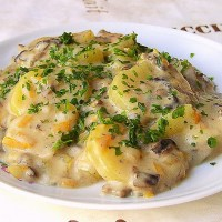 German Bechamel Potatoes