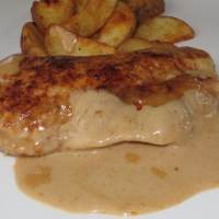 German Rahmschnitzel - Served with Creamy Sauce