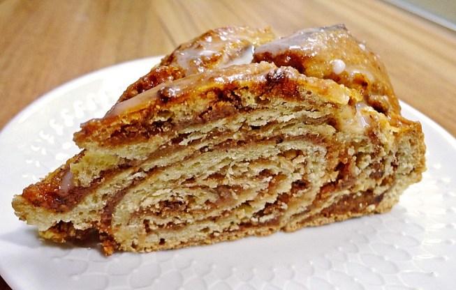 Almond Marzipan Braided Bread