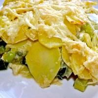 Potato Leek Gratin - Best German Casserole