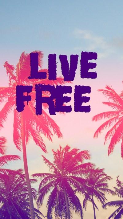 Free HD Live Free Phone Wallpaper...6924