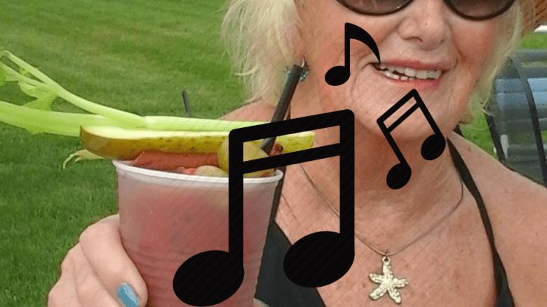 Lynn Miller sings