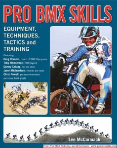 Pro BMX Skills…..latest book by Lee McCormack
