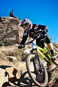 World Cup DH Champion Aaron Gwin Takes Double Victory in Super D and DH at Shimano Winter Series Round 3