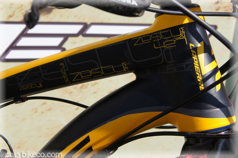 Teaser image of an aluminum Lapierre Zesty.  Lapierre has models to fit most budgets and riding styles.