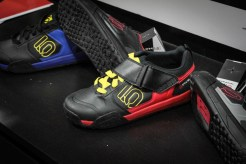 Five Ten had some new kicks at Interbike. Added weather protection and new look at cleat interface on their clip shoes. Also introduced was the new Mi6 rubber compound which is a bit softer, yet last just as long as the original Stealth rubber.
