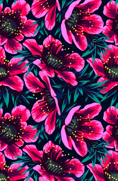 Flower patterns for Spring   my blue flamingo