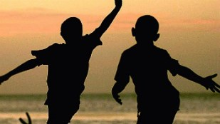 new-children-silhouette