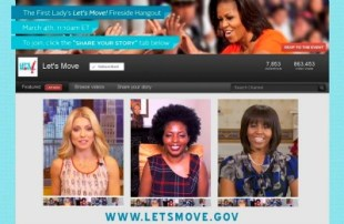 Michelle Obama Dougie Google Chat