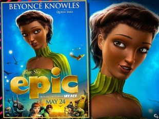 Beyonce Knowles In Epic the Movie