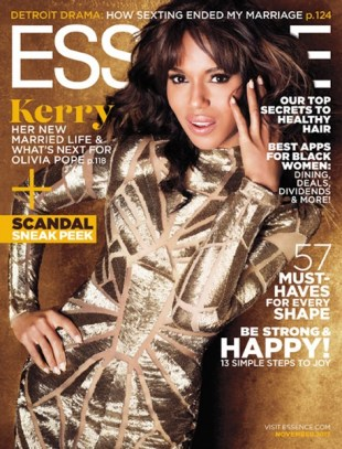 Kerry Washington Essence Cover