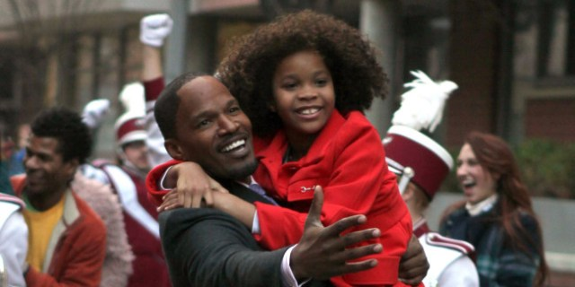 'ANNIE' Official Trailer, Starring Jamie Foxx and Quevenzhane Wallis