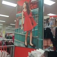 Annie in Target