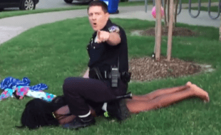 Video of the Texas Cop Attacking Black Children
