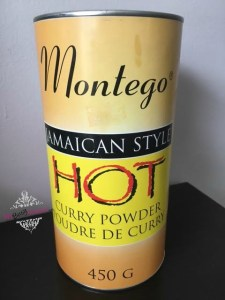 Montego Jamaican Style Curry Powder