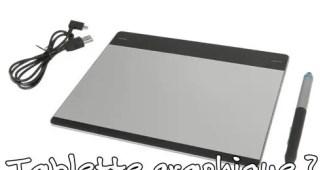 Tablette graphique et Chromebook