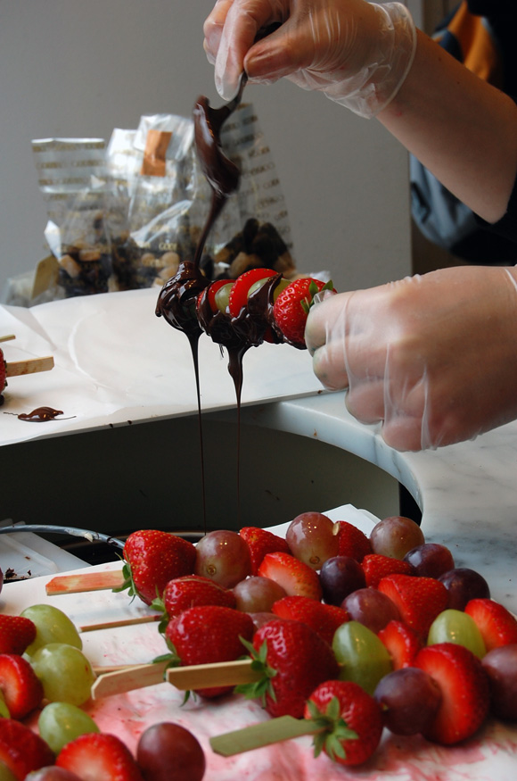 strawberry-chocolate