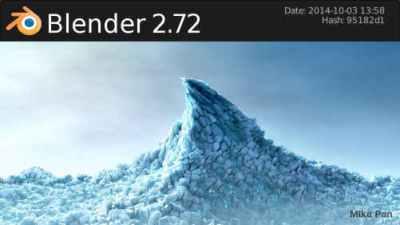 Liberado Blender 2.72a ¿Qué hay de nuevo?