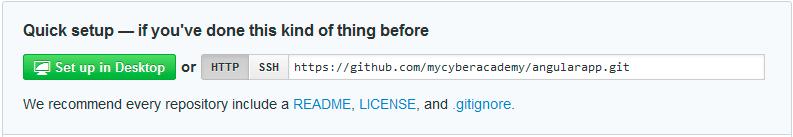 URL que identifica al repositorio