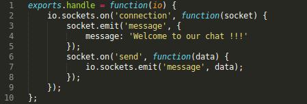 Contenido del archivo socket_server.js.