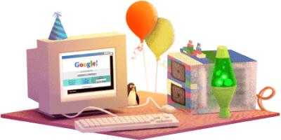 Google cumple años hoy