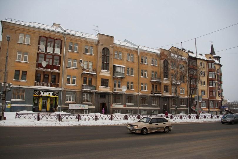 Typical Soviet Apartment Block