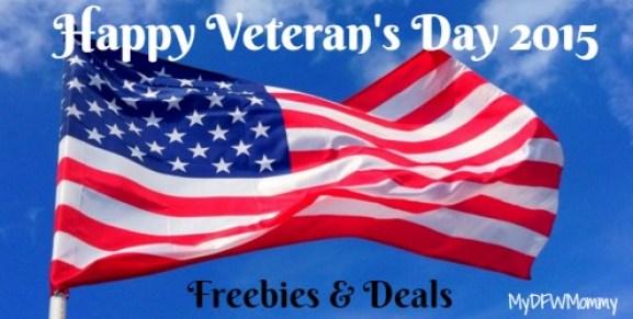 Veterans day freebies dfw 2018