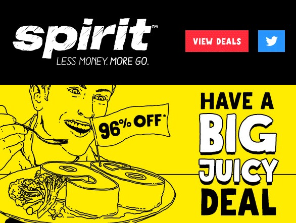Get FREE Spirit Airlines promo codes, coupon codes, deals and sales. 292ac2257f