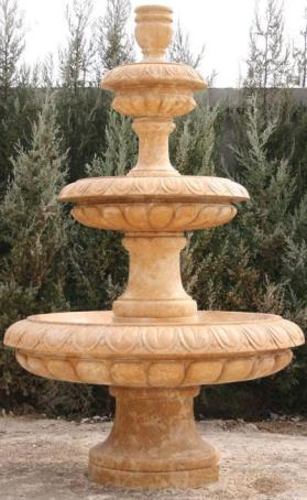 yellow-limestone-fountain