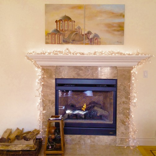 Fire Place During Day