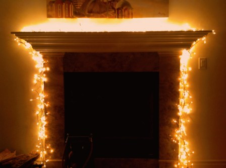 Fire Place Night