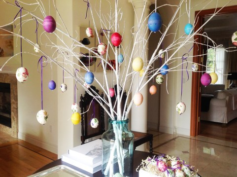 Once Again My Dear Irene, Easter Tree