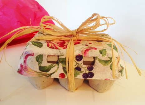 Wrapped Easter Egg Carton
