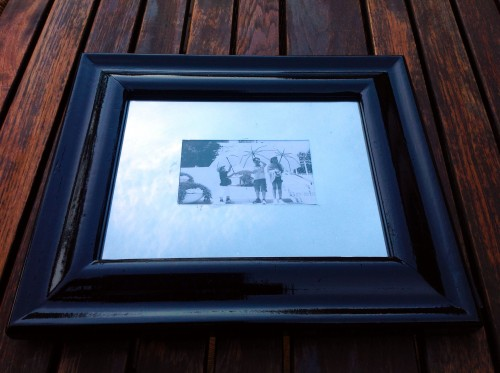 Freshly Painted Frame
