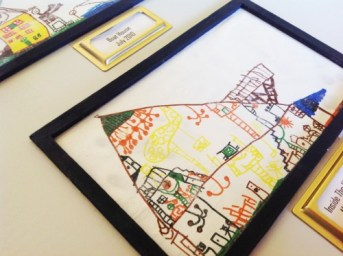 How To Display (Many) Childhood Drawings And Enjoy Them Forever!