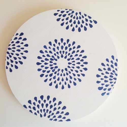 Stenciled Placemat