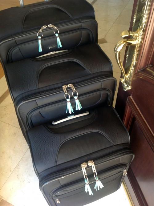 Suitcases & Cute Tassels