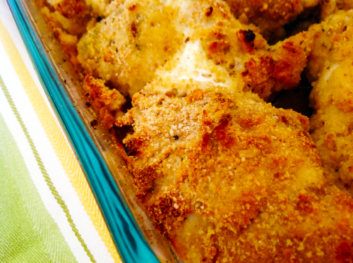 Chicken Thighs In Baking Dish