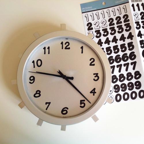 Metallic Clock - mydearirene