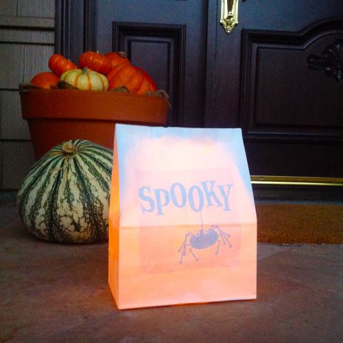 Spooky Paper Lantern By The Doorway - mydearirene