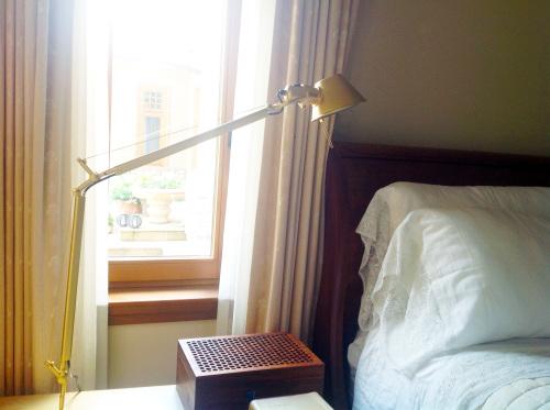 Lamp By Bedside Table - mydearirene