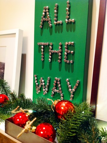 "Jingle … ""All The Way"" Canvas Art"