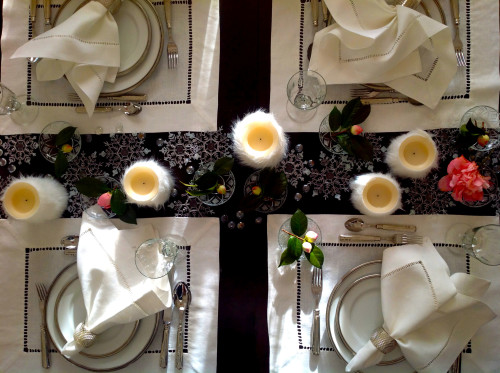 Table Setting For Four - mydearirene