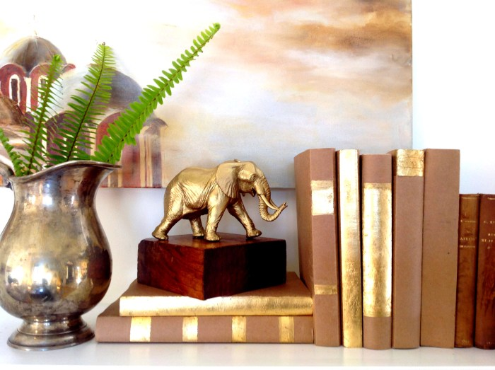 Making A Chic Elephant Statuette