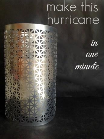 DIY One-Minute Hurricane