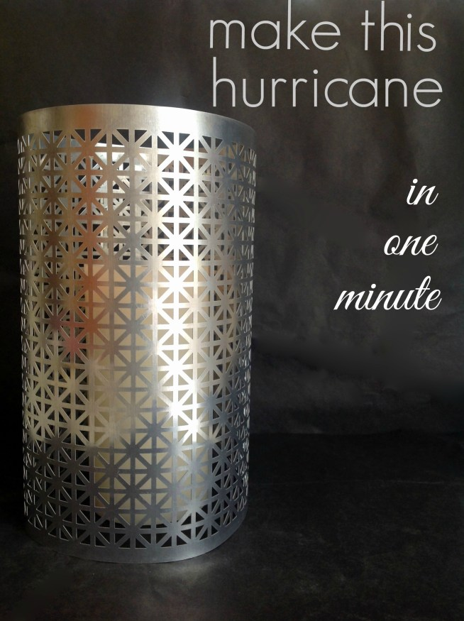 DIY One-Minute Hurricane