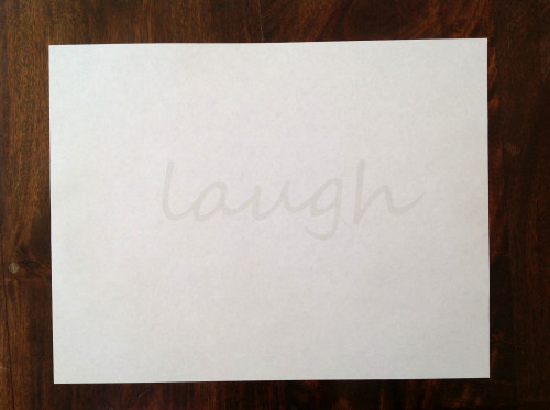 Print Laugh - mydearirene